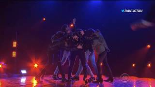BTS - FAKE LOVE ON JAMES CORDEN SHOW