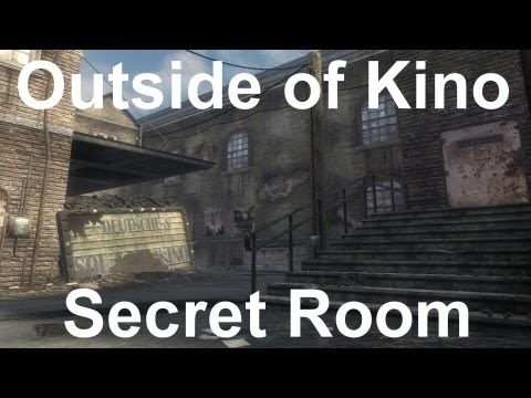 *NEW* Black Ops Zombies- Kino Der Toten Secret Room Out Of Map Glitch!