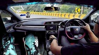 FK8 Civic Type-R Hill Drive + Footcam