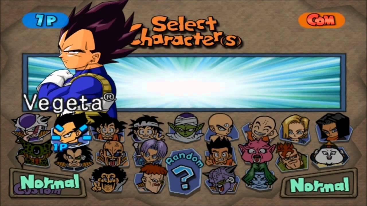 Dbz Budokai Tenkaichi All Character Sprites