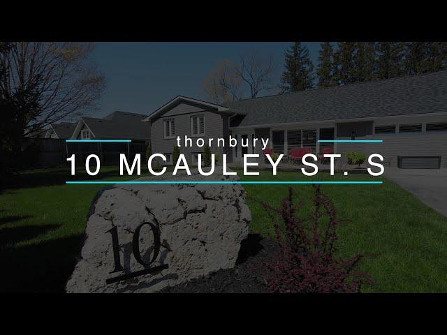10 McAuley Street South