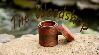 Woodturning Lidded Box