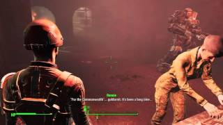 Fallout 4 PS4 - Old Guns - Castle Armory and Artillery Calibration