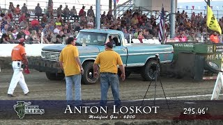 Central Illinois Truck Pullers - 2017 Four-Wheel Drive Modified Gas - Truck Pulls Compilation