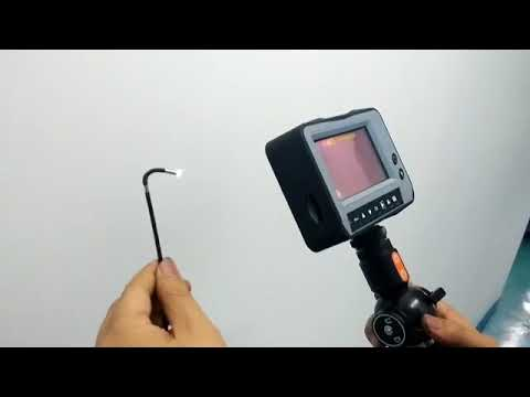 2.8mm industrial videoscope with 4-way articulaion, 1.5M testing cable