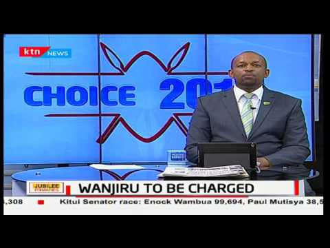 Bishop Margaret Wanjiru stormed Jubilee Party polling centre and threatened to undress before arrest