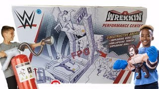 BRAND NEW WWE PLAYSET!! Performance Center Playset from Mattel + Much More!!!
