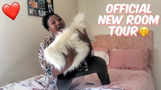 Revealing My Newly Furnished Room Tour | Myasha and Nadejah|