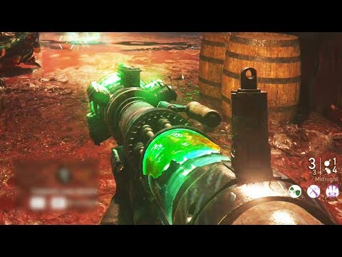 WW2 ZOMBIES EASTER EGG: TESLA GUN UPGRADE TUTORIAL! MIDNIGHT VARIANT (The Final Reich Easter Egg)