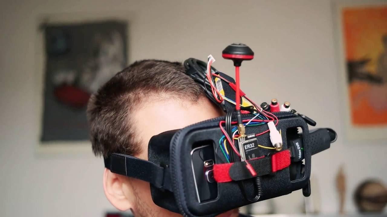 DIY smartphone FPV goggles