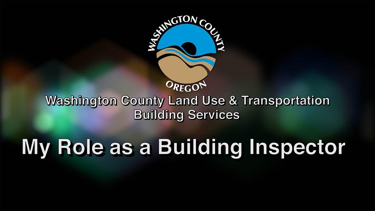Building Inspectors Washington County