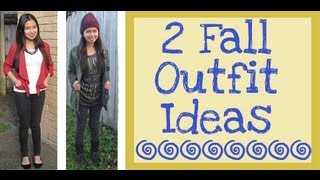 Fall Outfit Ideas Thumbnail
