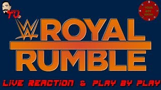 WWE Royal Rumble 2020: (Live Reaction & Watch Along) RIP Kobe