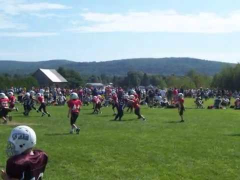 milton vermont football jamboree august 2010