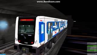 linea 2 version prueba openbve mexico tren nm 02 rehabilitado