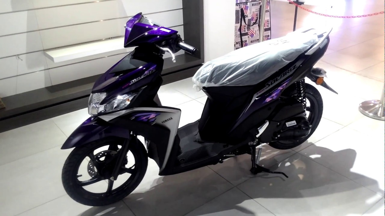 Yamaha Ego Solariz 125 New Colour Walkaround Purple 2018 Youtube