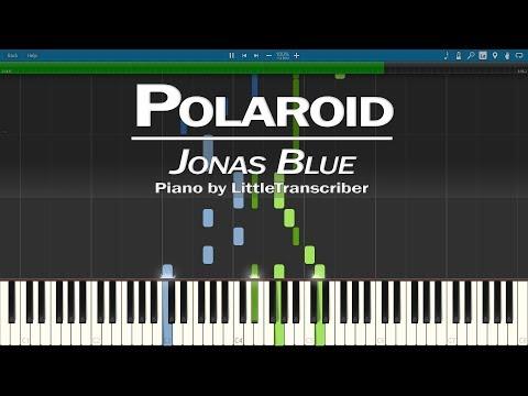 Jonas Blue, Liam Payne, Lennon Stella - Polaroid (Piano Cover)  Tutorial By LittleTranscriber
