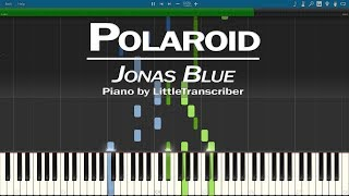 Jonas Blue, Liam Payne, Lennon Stella - Polaroid (Piano Cover)  Tutorial by LittleTranscriber