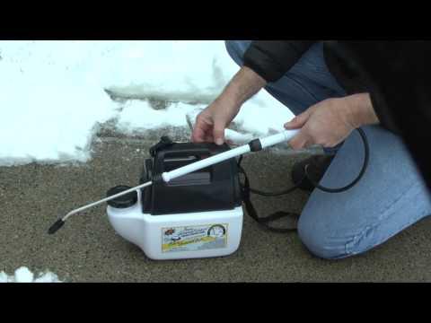 hozelock garden sprayer instructions