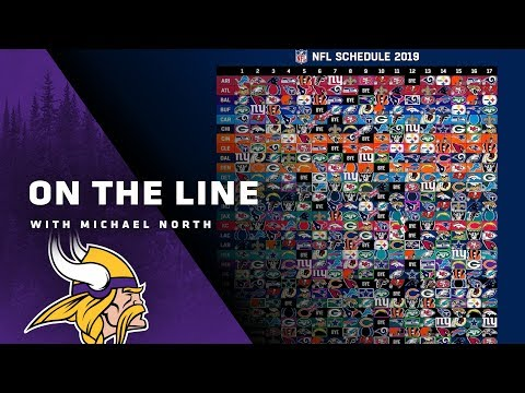 On The Line: NFL Schedule-Maker Michael North  Minnesota Vikings