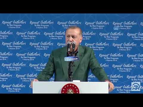 Erdoğan'ın Diyarbakır'da Prompter Bozulunca Dondu Kaldı:D