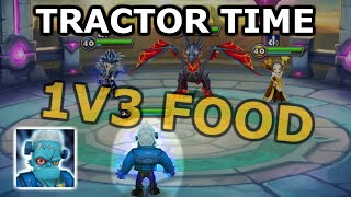TRACTOR DESTROYS THIS DEFENCE (1v3) BOMB COMPS =  😭 - Summoners War