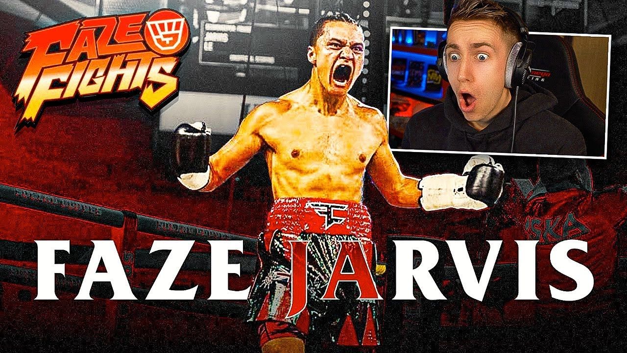 Reacting To FaZe Jarvis The Knockout & Road To Fight Night (Official FaZe Clan Documentary)