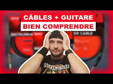 Tout savoir sur les câbles et les niveaux à la guitare !