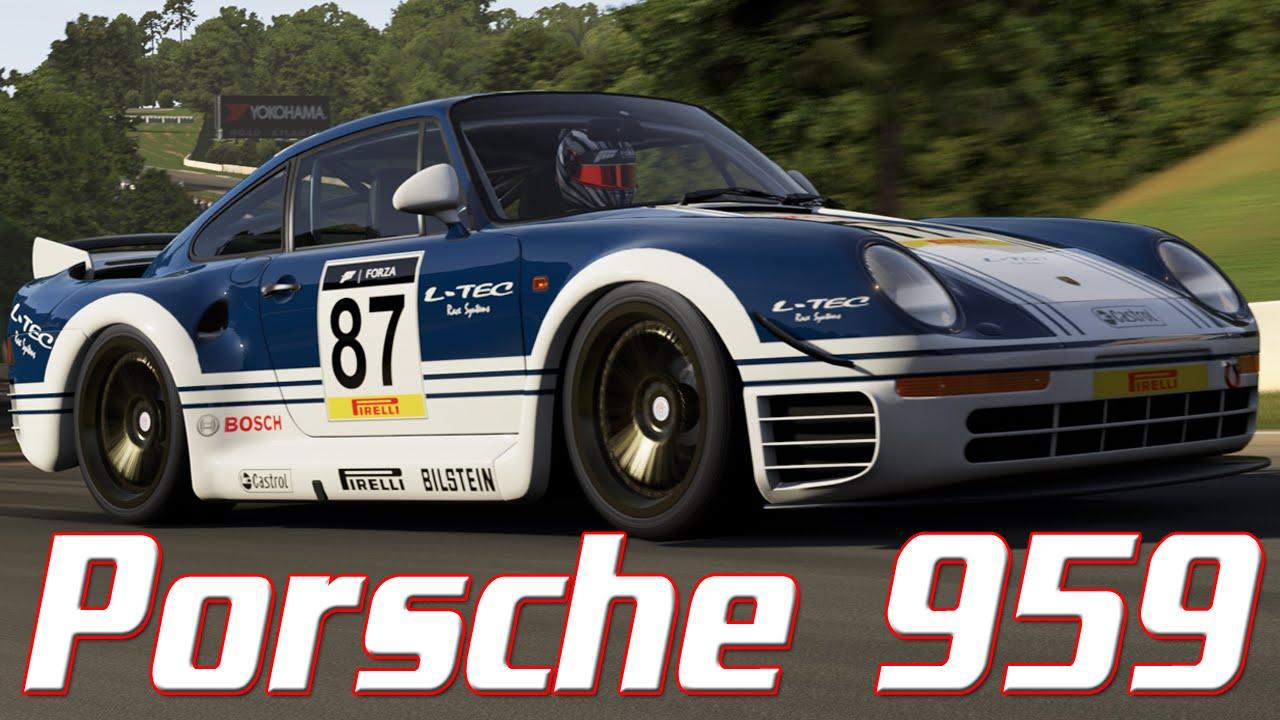Forza motorsport 6 livery showcase porsche 959