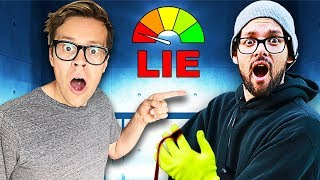 Daniel is the Game Master Spy  and takes Lie DETECTOR TEST in real life!