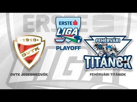DVTK Jegesmedvék - Fehérvári Titánok