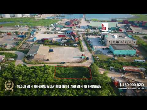 Commercial Lot near Belize Customs and Belize Ports Limited