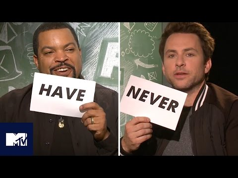 Ice Cube And Charlie Day Play Never Have I Ever  MTV Movies
