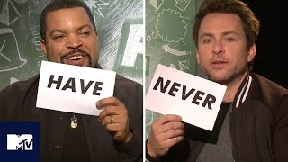 Ice Cube And Charlie Day Play Never Have I Ever! 🍆😂 | MTV
