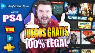 PS PLUS GRATIS TUTORIAL COMPLETO PS4 JUEGOS GRATIS PS NOW ESPAÑOL MÉTODO DEFINITIVO-2019-9BRITO9