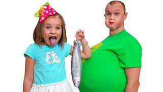Max y Katy le enseñan a papá a no comer dulces