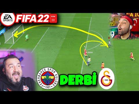 FIFA 22 FENERBAHÇE-GALATASARAY DERBİSİ! HİLE VAR! | ÜMİDİ İLE FİFA 22 OYNUYORUZ
