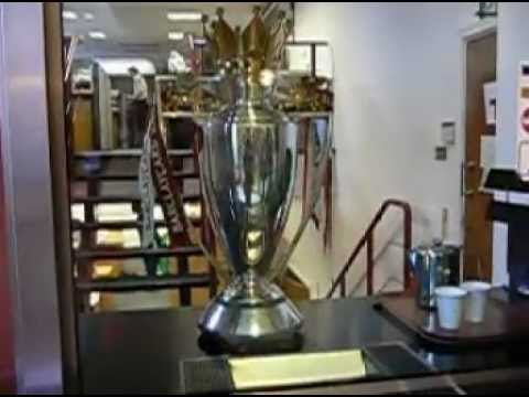 Arsenal Highbury stadium Tour - 22 Feb, 2005
