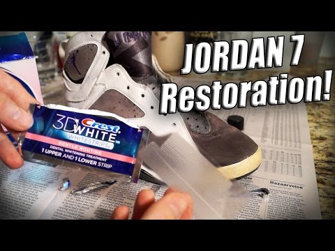 How to Clean, Paint, and Restore Jordan 7's (Rated R) Tutorial