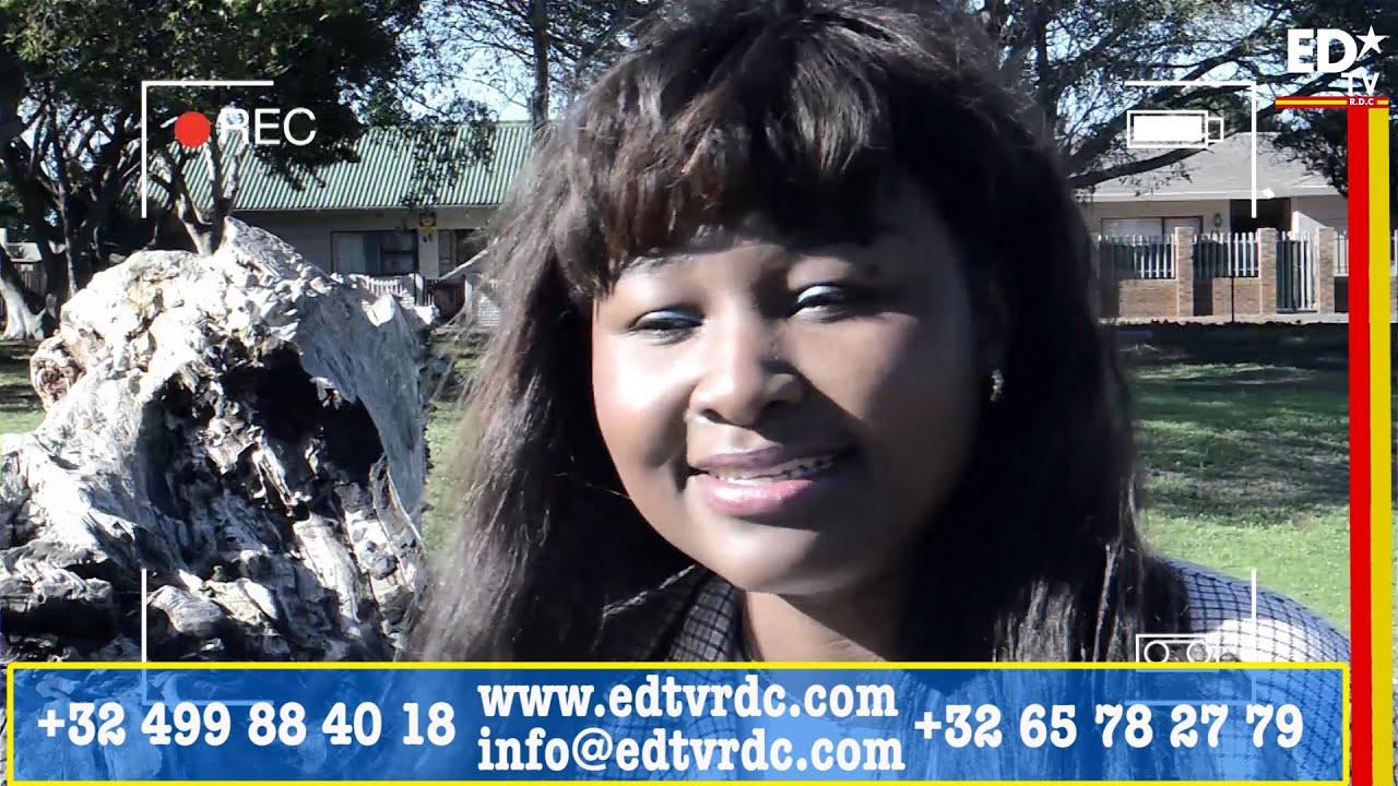CETTE CONGOLAISE EST L'ESPOIR DES RÉFUGIÉS AFRICAINS EN AFRIQUE DU SUD