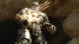 Iron Man   ''My Turn''   Escaping the Cave   Fight Scene   Movie CLIP HD