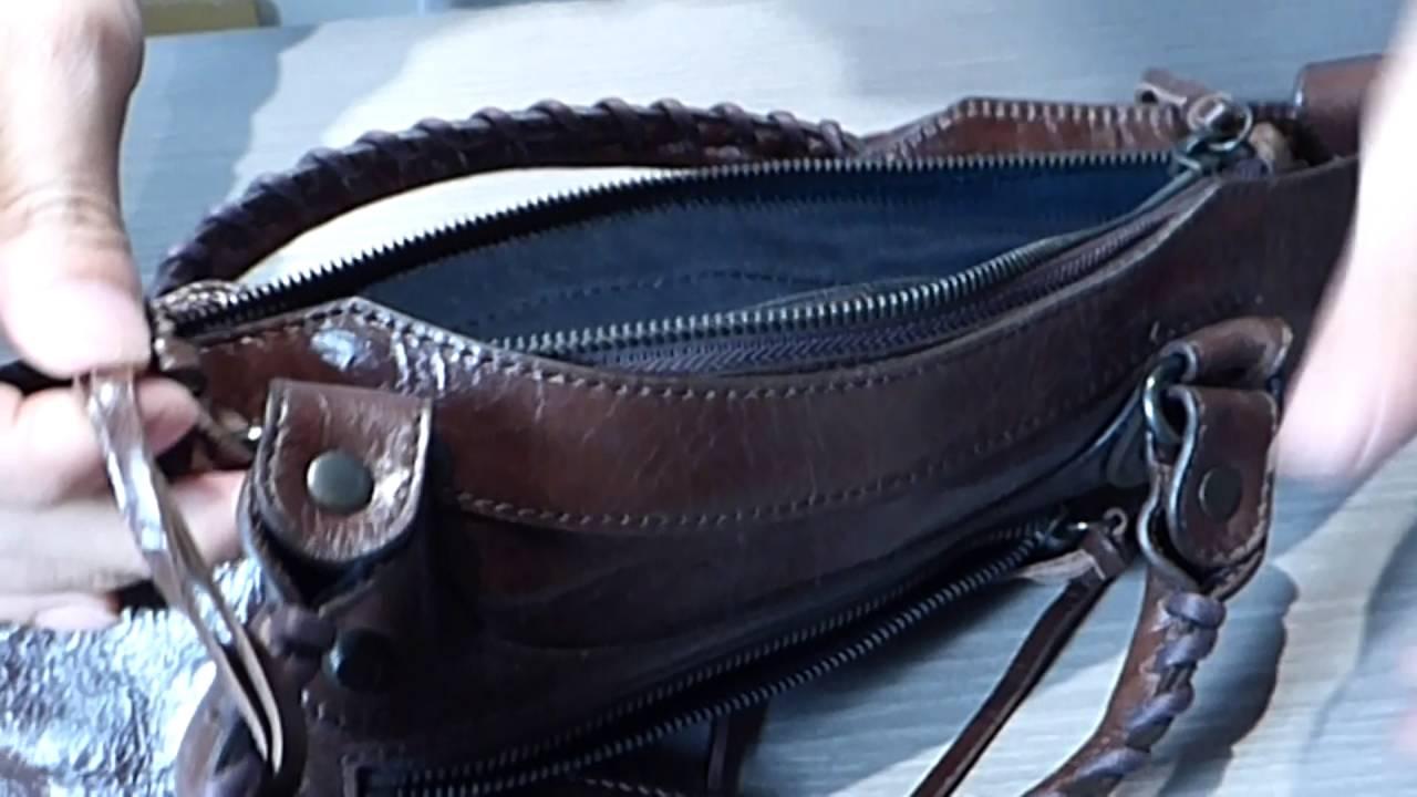 バレンシアガ Balenciaga 偽物の見分け方 エディターズバッグ