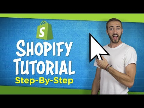 Shopify Tutorial For Beginners 2019 | Create an Online Store Step-By-Step thumbnail