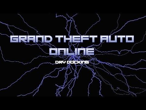 GTA V Online Dry Docking Mission Solo Walkthrough (GTA 5 Online Gameplay)  [Hard]