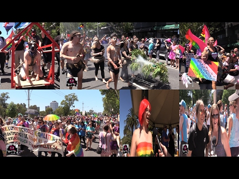 Midsumma 2017 - Pride March - The March and Catani Gardens