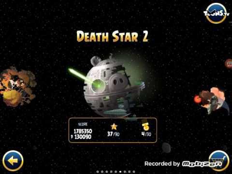 Angry Birds Star Wars Emperor Boss