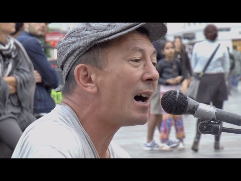 "Peter Jones: ""Did You Ever Love Anyone?"" - Busking in Copenhagen"