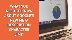 Google's New Meta Descriptions' Character Limit: All You Need to Know to Improve SEO
