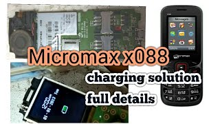 micromax mobile charging solution |micromax x088 charging solution