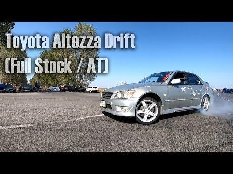 Toyota Altezza Drift (Full Stock / AT) / Тойота Альтезза дрифтит (Сток на автомате)